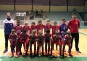 Base de Içara recebe lagunenses no Regional de Futsal