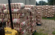 Carga de arroz desviada em Içara é achada em PR