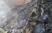 Casa é atingida novamente por incêndio em Lagoa dos Freitas
