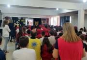 Lions leva prevenção em saúde para a Escola Quintino Rizzieri