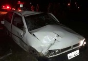 Jovem é detido em Novo Caravaggio após capotagem com veículo furtado