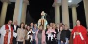 Festa de São Donato incia com paramentação realizada pela Família De Mello