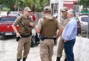 Vereador é detido com material de campanha em Vila Nova