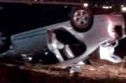 Motorista é detido após capotagem no bairro Presidente Vargas
