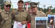 """""""Só pensei em preservar uma vida"""", afirma policial após ato heróico"""