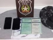 Pai e filha são presos com itens utilizados em furtos de veículos