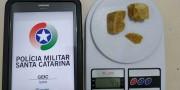 Polícia Militar prende traficante em abordagem no Bairro Liri em Içara