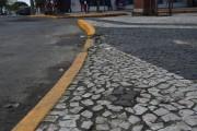 Vereador pede restauração do piso da Avenida Central