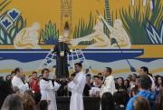 Comunidade de Siderópolis celebra missa com bênção dos avós