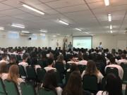 Cartório Eleitoral de Jaraguá do Sul realiza ação do projeto Eleitor do Futuro