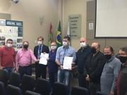 Vereadores de Criciúma entregam solicitação para agência e lotérica em bairros