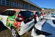 Epagri apresenta nº do Balanço Social e entrega veículos