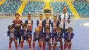 Sub-10 de futsal da FMCE avança para as semifinais da LUD