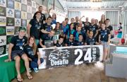 Atletas concluem oitavo Desafio 24 horas de Natação Unesc