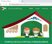 Escola Virtual mantêm os alunos em atividades durante o isolamento em Forquilhinha