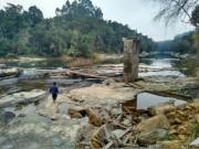 Agrava a situação dos rios que sofrem com estiagem em SC