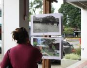 Exposição busca conscientizar sobre a degradação do Rio Criciúma