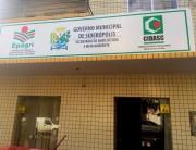 Novo endereço da Secretaria de Agricultura e Meio Ambiente de Siderópolis