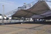 Estrutura para a AgroPonte 2016 começa a ganhar forma