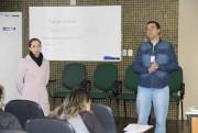 Agentes de saúde de Orleans participam de palestra