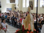 Paróquia inaugura Centro de Pastoral e rende homenagens a Santa Bárbara