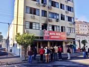 Incêndio em hotel de Braço do Norte mata três hóspedes