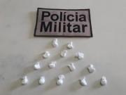 Polícia Militar de Araranguá prende homem por tráfico de drogas