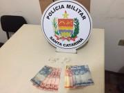 PM de Araranguá prende mais um homem por tráfico de drogas