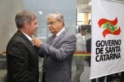 Moreira dá posse ao novo secretário de Estado da Comunicação