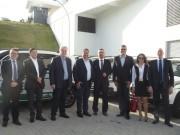 Governador entrega viaturas ao IGP e motos à Polícia Militar