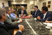 Governador e ministro discutem alternativas para SC avançar