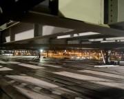 Mais 11 centímetros são erguidos na segunda noite da Ponte Hercílio Luz