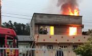 Homem coloca fogo na casa de ex-esposa