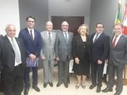Bancada do Sul leva pleitos ao Tribunal de Justiça de SC