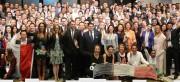 Jovens de 19 países vem a BC conhecer o relacionamento entre empresários e governo