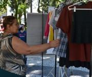 Praça Nereu Ramos recebe moda sustentável através do Rebazar