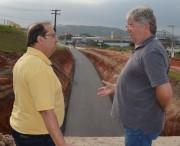 Obras de mobilidade urbana avançam entre Criciúma e Içara