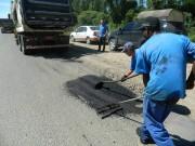 ADR realiza operação tapa buracos em região