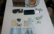 PM flagra tráfico de drogas, no bairro Presidente Vargas, em Içara
