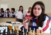 Kathiê alcança 5º lugar nacional no Campeonato de Xadrez