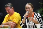 Deputada Ada de Luca participa de audiência pública na Unesc
