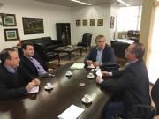 Gentil da Luz se reúne com vice-governador em Florianópolis