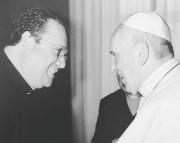 Seminarista de Criciúma participa de audiência com o Papa