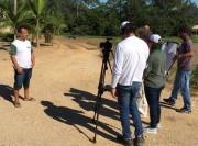 Programa Negócio Certo Rural grava case de produtor rural de Imaruí