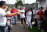 Greve deflagrada na Casa de Saúde do Rio Maina