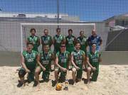 Handebol da Satc é campeão em torneio de areia