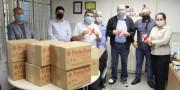 HSD recebe doação de 900 máscaras N95 para proteção dos profissionais