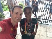 Professor e atletas são convocados para Seleção Catarinense de Atletismo