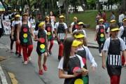 Desfile abre atividades por trânsito mais seguro em Içara
