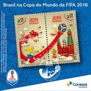 Correios lança emissão especial Brasil na Copa do Mundo